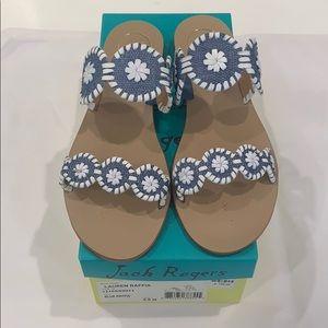 Jack Rogers Lauren sandals size 9.5